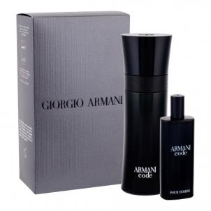 eau de toilette eau de toilette Giorgio Armani Black Code EDT 75ml (Rinkinys 5)