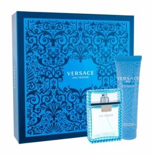 Tualetes ūdens Versace Man Eau Fraiche EDT 100ml (komplekts 1) Kvepalų ir kosmetikos rinkiniai