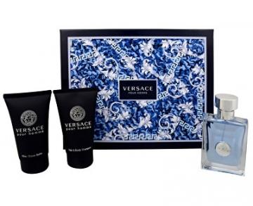 Tualetinis vanduo Versace Pour Homme EDT 50 ml (Rinkinys 5) Kvepalų ir kosmetikos rinkiniai