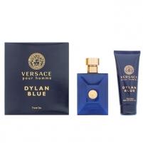 Tualetinis vanduo Versace Versace Pour Homme Dylan Blue EDT 100 ml (Rinkinys 2) Kvepalų ir kosmetikos rinkiniai