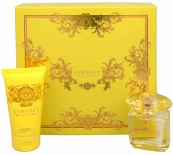 Perfumed water Versace Yellow Diamond EDT 30 ml + Body Lotion 50 ml (Set)