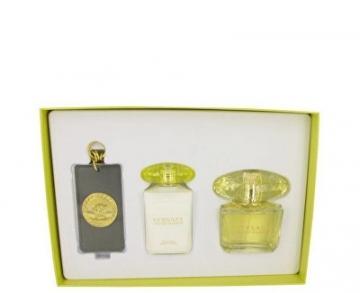 Tualetes ūdens Versace Yellow Diamond EDT 90 ml + kūno pienelis 100 ml + pakabukas (Rinkinys)