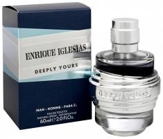 Tualetinis vanduo vyrams Enrique Iglesias Deeply Yours EDT 40ml Kvepalai vyrams