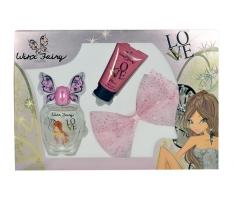 Tualetinis vanduo Winx Fairy Couture Flora EDT 50ml (Set) Perfume for children