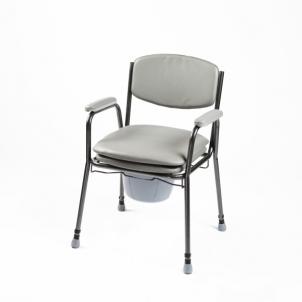 Tualeto kėdė paminkštinta sėdyne 04-7400 Bathroom and toilet accessories