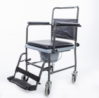 Tualeto kėdė su ratukais KM-02-8015C