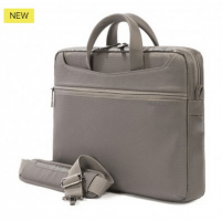 """Tucano WORK_OUT slim bag for MacBook Air/Pro 13"""" and Ultrabook 13"""" + iPad and tablet (Grey)"""