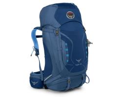 Turistinė kuprinė Kyte 46 Ws Mėlyna, S/M dydžio nugaros sistema
