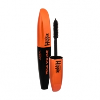 Tušas akims L´Oreal Paris Mascara Mega Volume Miss Hippie Cosmetic 8,4ml Shade Black
