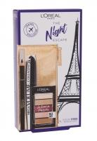 Tušas akims L´Oréal Paris The Night Escape Mega Black Mascara 9ml
