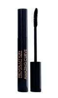 Tušas akims Makeup Revolution London Amazing Curl Mascara Cosmetic 5,5ml Black Tušai akims