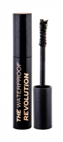 Tušas akims Makeup Revolution London The Mascara Revolution Black Waterproof Mascara 8ml Tušai akims