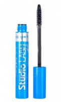 Tušas akims Miss Sporty Studio Lash Waterproof Mascara Cosmetic 8ml Black Tušai akims