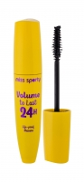 Tušas akims Miss Sporty Volume To Last 100 Lasting Black 24H Mascara 12ml Tušai akims