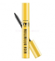 Tušas akims NYC New York Color High Definition Mascara Cosmetic 8ml Carbon Tušai akims