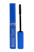 Tušas akims NYC New York Color Show Time Mascara Cosmetic 8ml 844 Black Tušai akims