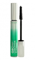 Tušas akims Revlon Grow Luscious Plumping Waterproof Mascara Cosmetic 10ml 221Blackest Black Tušai akims
