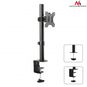 TV laikiklis Maclean MC-751 monitor desk bracket 13-32 8kg vesa 75x75, 100x100 TV stovai, laikikliai