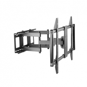 TV laikiklis Sunne Wall Mount, 60-100-EA, Maximum weight (capacity) 80 kg, Black