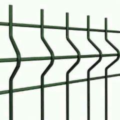 Tvoros segmentas 200x50x3/4x2500x1230mm,žalia;ruda;pilka Tvorų segmentai