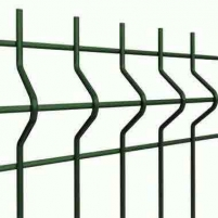 Panel 200x50x4x2500x1030mm green Fence segments