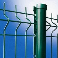 Tvoros segmentas karštai cinkuotas Nylofor 3D 5x50x200x1230x2500 Tvorų segmentai