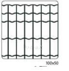 Tinklas tvoros ARGI FENCE, 100mmx50mmx25mx1,2m (2,2mm) žalia Tvoros tinklai suvirinti plastifikuoti