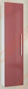 Ūkinė spintelė KAMĖ ALLEGRO 35 cm pločio, raudona blizgi