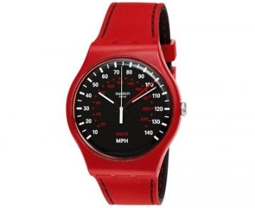 Unisex laikrodis Swatch RED BRAKE SUOR104