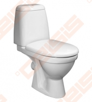 "Toilet ""Baltic"" with right runoff, horizontal trap Lavatory closets"