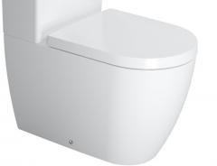 Unitazo apačia ME by Starck, 370x650 mm, universalus, baltas Klozetai unitazai