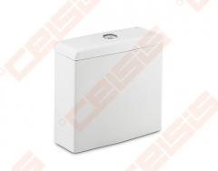 Tualete tvertne ROCA Meridian Compact ar dvigubu 4,5 / 3 litrų nuplovimu