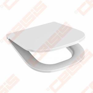 Toilet cover DEEP by JIKA chrom clamps with antibacterial efektu