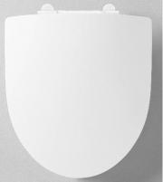Toilet cover Inspira Art with soft close funkcija, baltas
