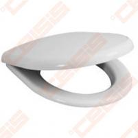 Toilet cover JIKA Baltic/DEEP by JIKA with antibacterial efektu ir plastikinėmis clamps, lėto užsidarymo mehanizm SLOWCLOSE