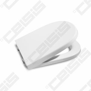 Toilet cover ROCA Meridian Compact with Soft close mehanizm lėtam užsidarymui