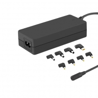 Universal power adapter 65W | 8 plugins | power cable