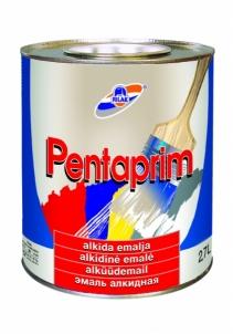 Universalus alkidinis emalis Pentaprim 2.7 l Pilka Izšūšana
