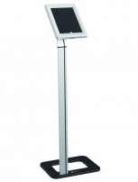Universalus stovas planšetei Techly Uniwersal floor stand for iPad and tablets 9.7-10.1 with key lock Interaktyvus pristatymas