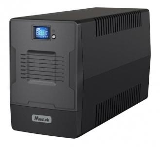 UPS - nepertraukiamo maitinimo šaltinis Mustek PowerMust 1500 LCD Line Int. IEC/Schuko