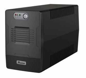 UPS - nepertraukiamo maitinimo šaltinis Mustek PowerMust 1500 EG Line Int. Schuko Ups elektroapgāde.