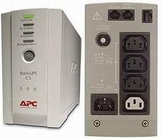 UPS - nepertraukiamo maitinimo šaltinis APC Back-UPS CS 500VA