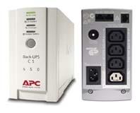 UPS - nepertraukiamo maitinimo šaltinis APC Back-UPS CS 650VA