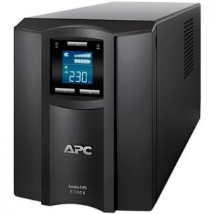 APC Smart-UPS C 1000VA LCD 230V Ups elektroapgāde.