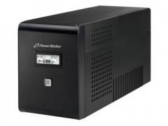 UPS - nepertraukiamo maitinimo šaltinis UPS Power Walker Line-Interactive 2000VA 2x SCHUKO, 2x IEC, RJ11/RJ45, USB, LCD