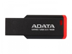 USB atmintukas Adata Flash Drive UV140, 16GB, USB 2.0, black and red