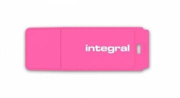 USB atmintukas Integral USB Flash Drive Neon 16GB USB 2.0 - Pink