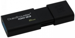 USB atmintukas KINGSTON DATATRAVELER 100 G3 8GB 3.0