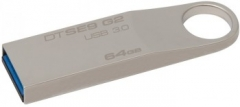 USB atmintukas KINGSTON DATATRAVELER SE9 G2 64GB 3.0