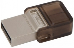 USB atmintukas KINGSTON MICRODUO 16GB DT 2.0 OTG